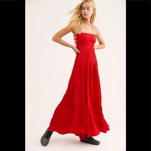 NWOT Extratropical Rhapsody Red Dress